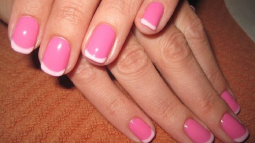 Simple Trick To Do French Manicure