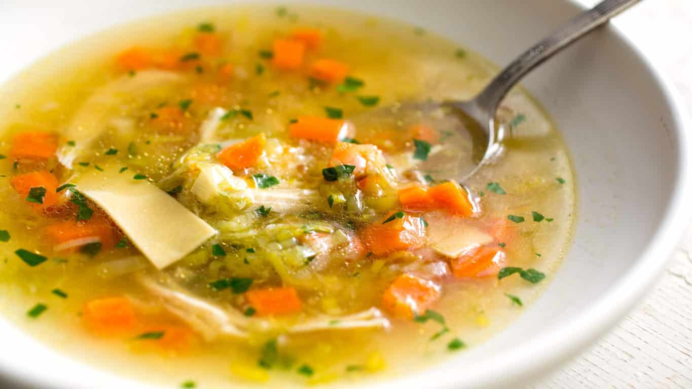 Serve Veggies in Soups