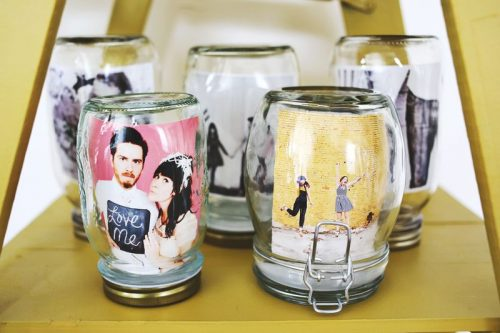 How to make a photo frame in Jar