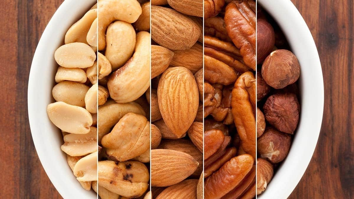 Nuts Best Healthy Homemade Snacks
