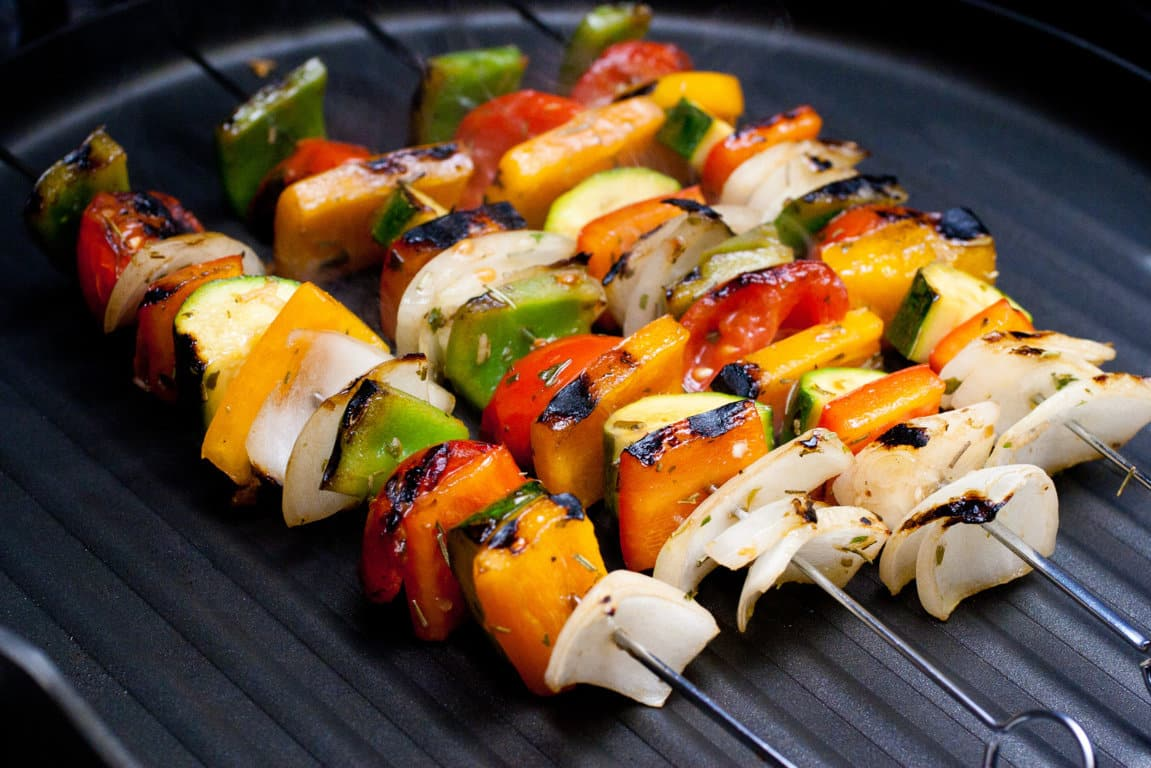 Grill those Veggies