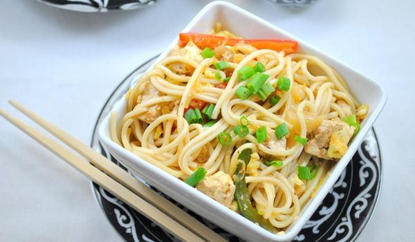 The forkful of Veggies Noodles