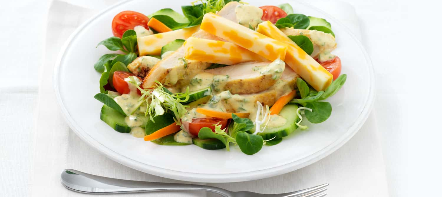 green veggies mixed with cheese