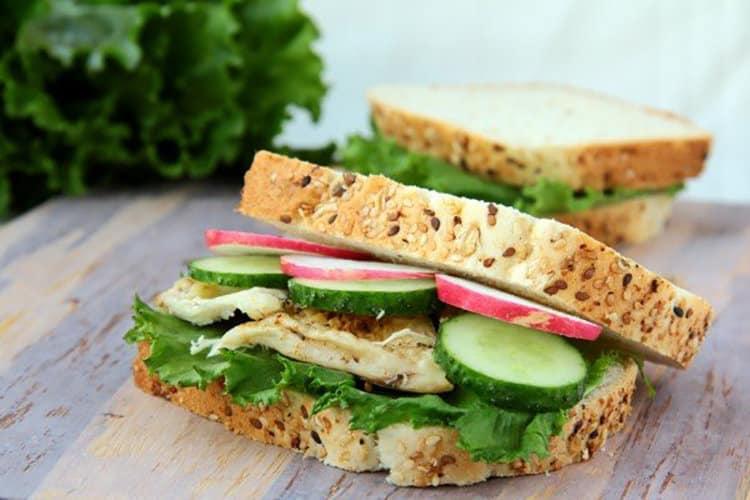 mayo vegan sandwich burger