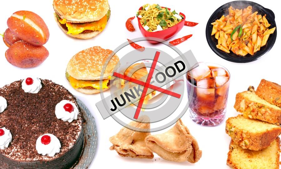 No Junk Food Habits