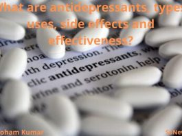 What are antidepressants? What are types, uses, side effects and effectiveness?